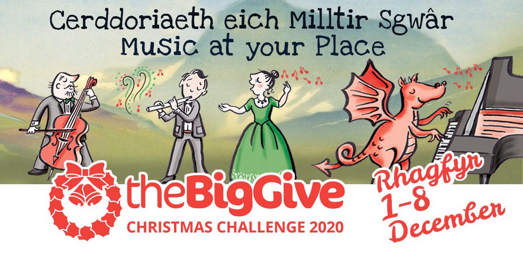 the Big Give Christmas Challenge 2020 - Her Nadolig 'Big Give'